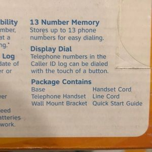 at&t Other - AT&T TRIMLINE TELEPHONE LANDLINE home office mount